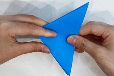 折纸热带鱼步骤图 手工折纸-第4张