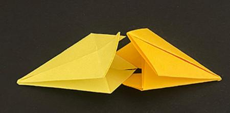 菠萝手工折纸方法图解 手工折纸-第5张