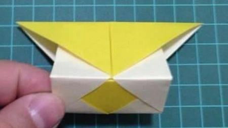 折纸灯笼立体简单做法 手工折纸-第10张