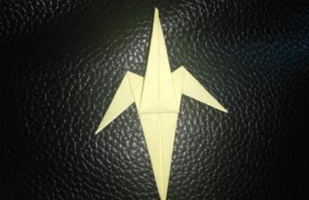 手工折纸小燕子步骤图解 手工折纸-第8张
