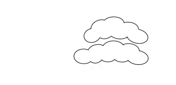 彩色松柏简笔画画法步骤教程 中级简笔画教程-第2张