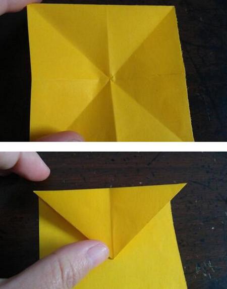 小狗指套怎么折 手工折纸-第4张