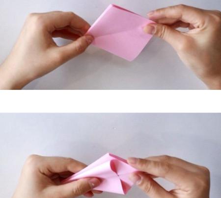 手工折纸立体章鱼怎么折图解 手工折纸-第3张