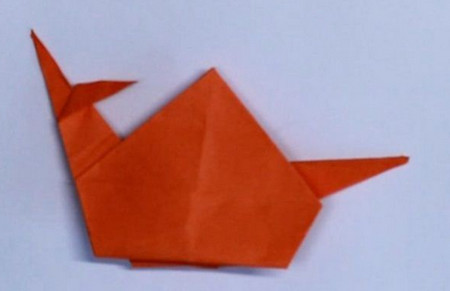 手工折纸蜗牛步骤 手工折纸-第1张