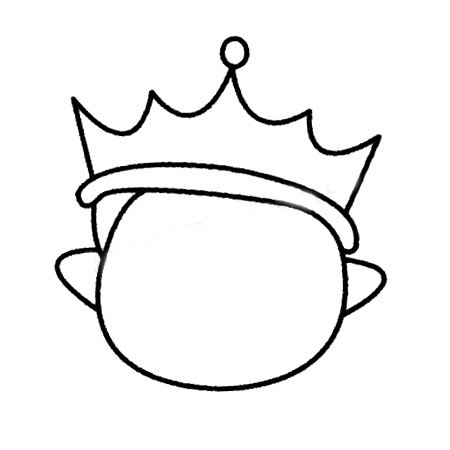教小朋友画王子简笔画 中级简笔画教程-第4张