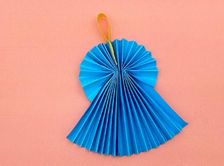 手工折纸礼服裙子步骤图解 手工折纸-第6张