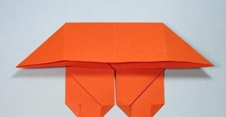 带翅膀爱心的折法图解 手工折纸-第11张