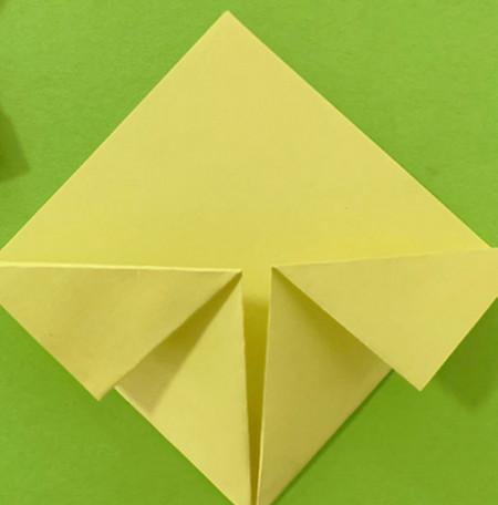 愤怒的小手工折纸步骤图 手工折纸-第6张