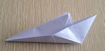 折纸宇宙飞船图解 手工折纸-第9张