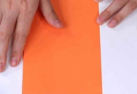 伸缩扇子的折法图解 手工折纸-第3张