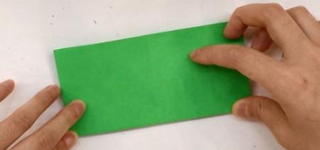 树叶信封折纸的折法图解 手工折纸-第3张