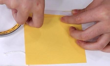 伸缩扇子的折法图解 手工折纸-第21张