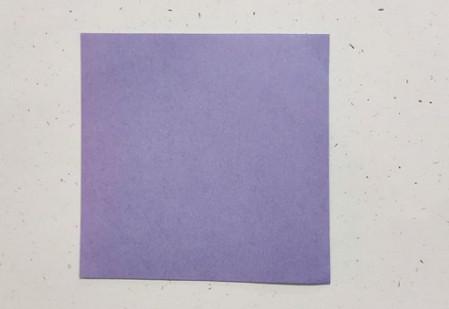 郁金香手工折步骤图解 手工折纸-第2张