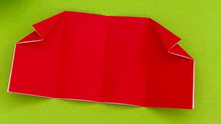 帐篷折纸方法图解 手工折纸-第7张