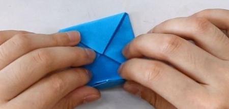 儿童手工折纸花球步骤图解 手工折纸-第6张