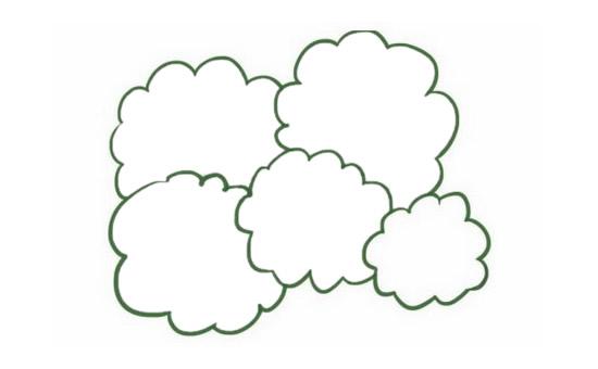 果树简笔画的画法步骤图解教程及图片大全 植物-第3张