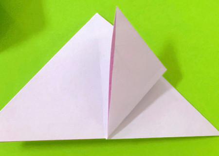冰淇淋折纸步骤图解法 手工折纸-第4张