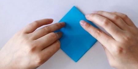 手工折纸蜘蛛图解步骤 手工折纸-第3张