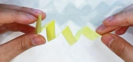 折纸毛毛虫简单折法 手工折纸-第5张