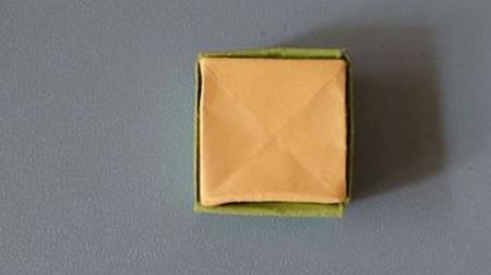小椅子折纸步骤图解 手工折纸-第8张