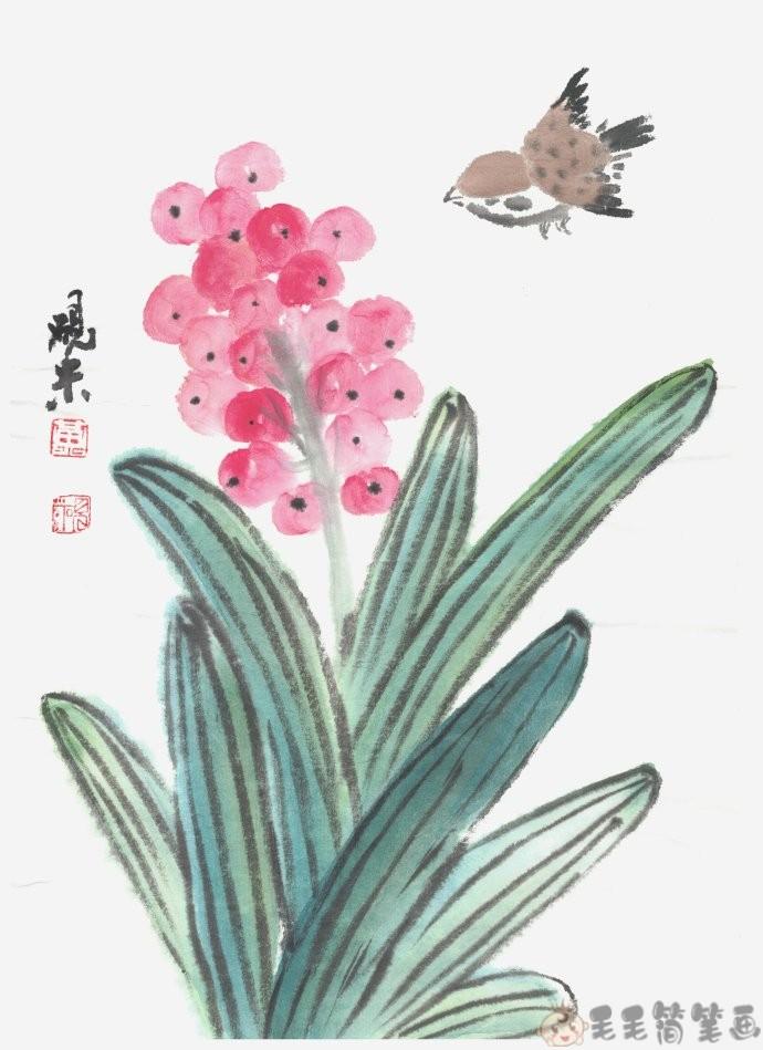 儿童国画作品图片