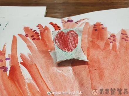 教师节幼儿绘画
