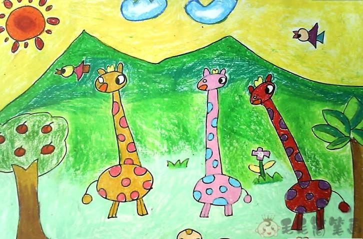 1一9岁儿童画简单