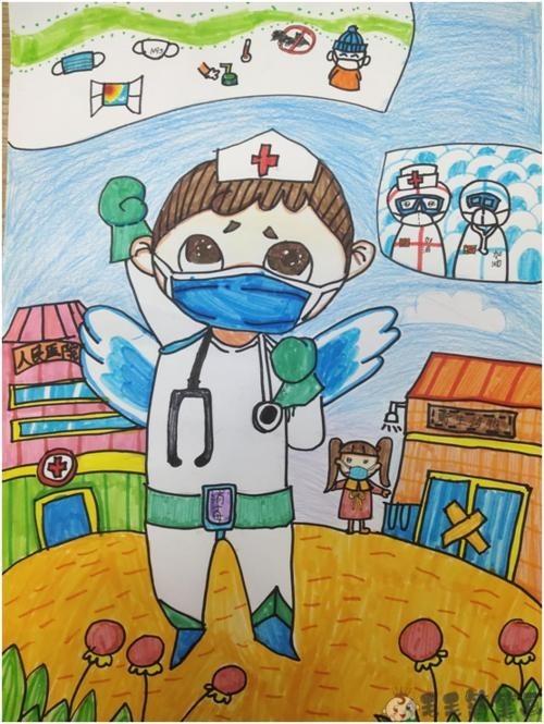 医师节儿童画