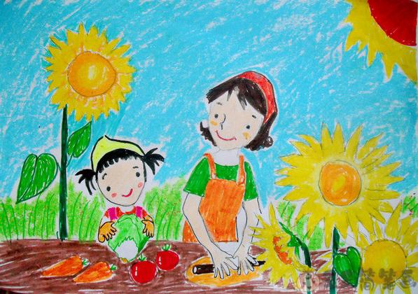 小学生养成好习惯画画