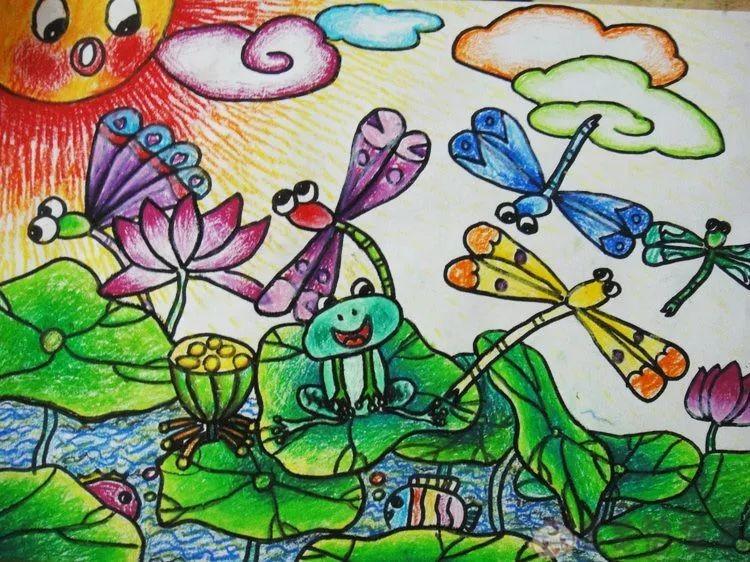 幼儿美术画作品