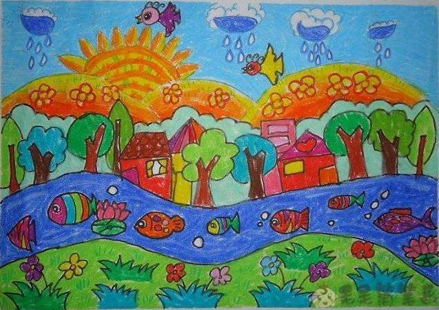 儿童美术画大全