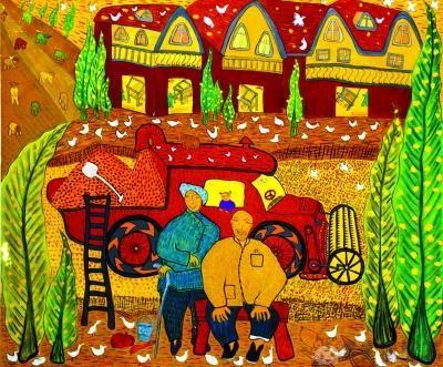 幼儿园丰收季节的画
