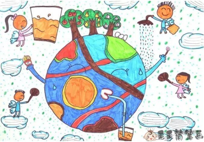 低碳画画参赛作品