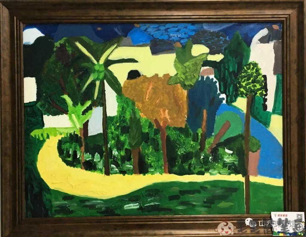 儿童油画范画作品