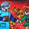重阳节幼儿园画画图片