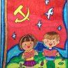 传承红色革命精神儿童画